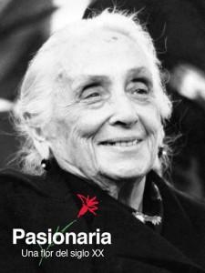 Cartel conmemorativo del 25 aniversario de la muerte de D. Ibárruri