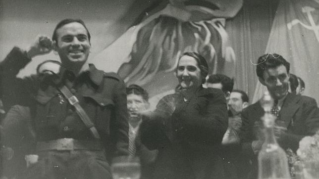 Francisco Antón y Dolores Ibárruri